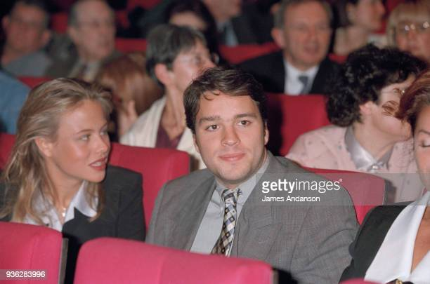 Paris Laurent Tapie attends the concert of french singer JeanJacques Debout 08th March 1996