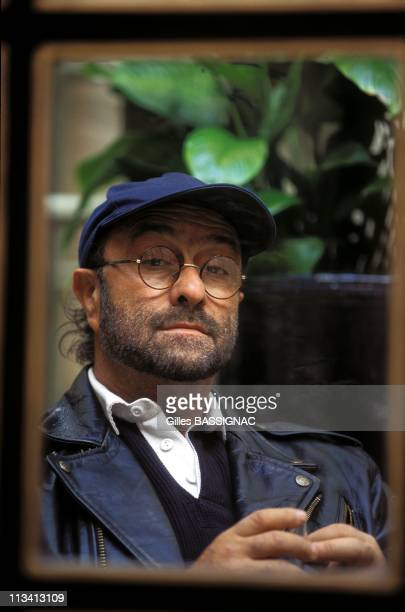 Paris Lucio Dalla Singer ON October 25th1996 In Paris France