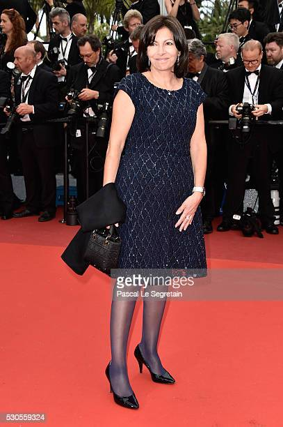 Paris' Mayor Anne Hidalgo attends the 'Cafe Society' premiere and the Opening Night Gala during the 69th annual Cannes Film Festival at the Palais...