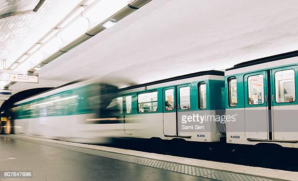 La Station de métro à Paris