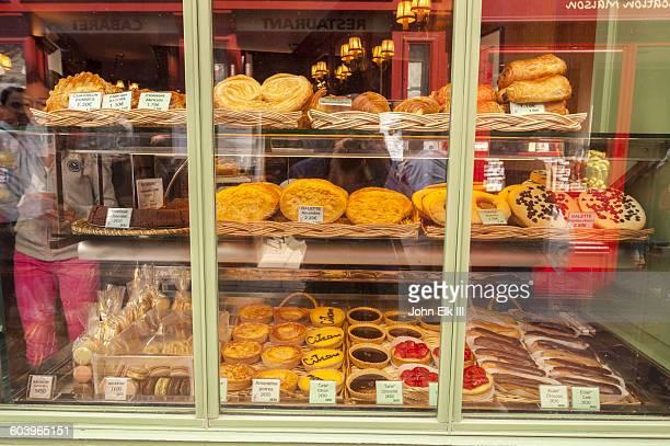 Paris, Montmarte, Pastery shop window