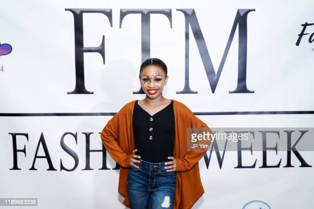 Paris Moore attends FTM Fashion Week S7 at Sturgeon City on November 23 2019 in Jacksonville North Carolina