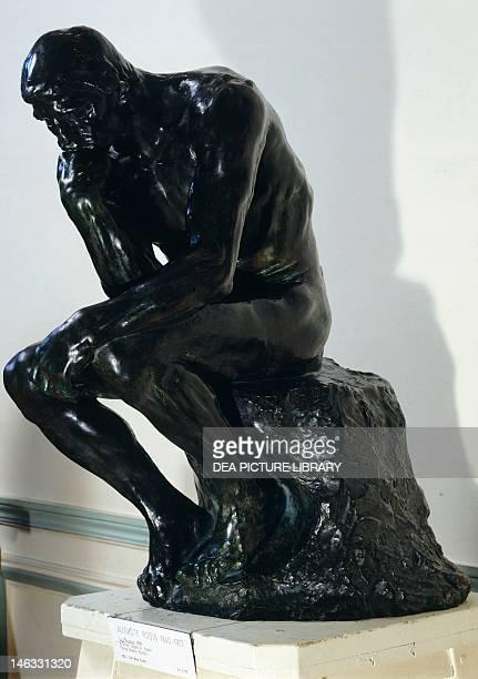 Paris Musée Rodin The Thinker by Auguste Rodin bronze sculpture