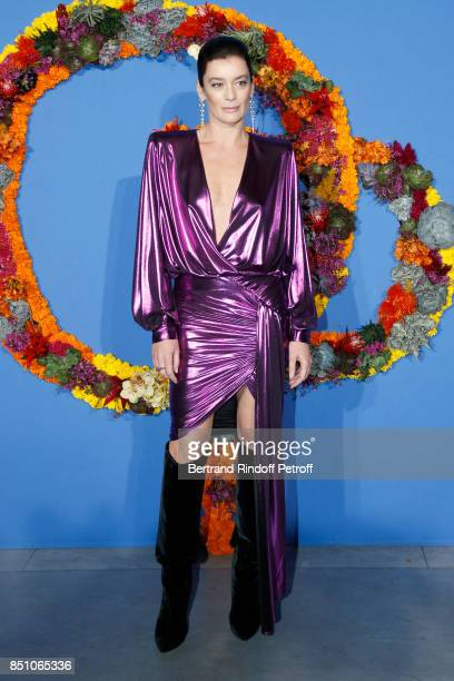 Paris National Opera dance director Aurelie Dupont Dress Alexandre Vauthier Jewelry Boucheron Hairdressing John Nollet attend the Opening Season Gala...