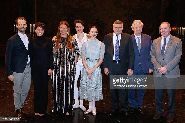 Paris National Opera dance director Benjamin Millepied Spokesman of the French Government Najat VallaudBelkacem President of committee 'Reve...