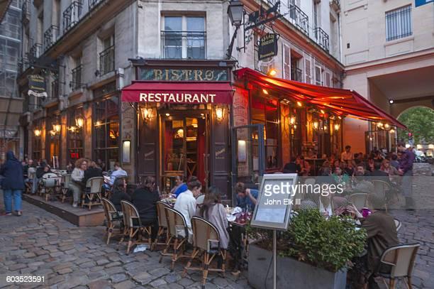 Paris, outdoor cafe scene