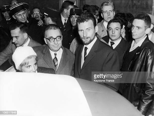Paris Palais De Justice Pierre Lagaillarde At The Barricades Trial November 17Th 1960