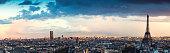 Paris Panorama From Arc De Triomphe