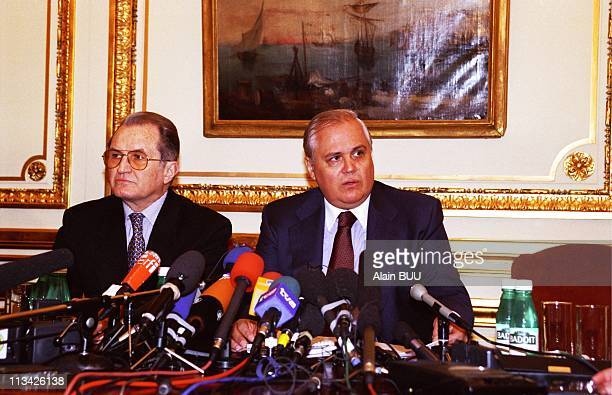 Paris: Peace Agreement On Kosovo On March 18th, 1999 - In Rambouillet,France