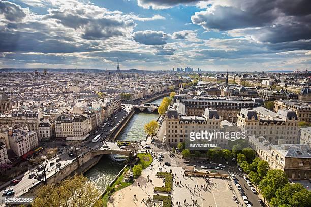 de paris - ile de france photos et images de collection