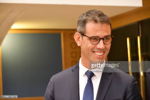 Paris prefect's former cabinet chief Yann Drouet arrives for an hearing before French Senate enquiry commission on the socalled Benalla affair over...