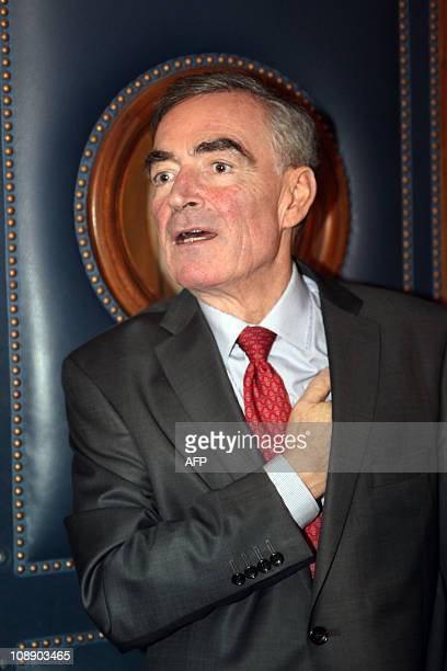 Paris prosecutor Jean-Claude Marin arrives on February 8, 2011 for a meeting with magistrates at the Paris Hall of Justice, to discuss a social...