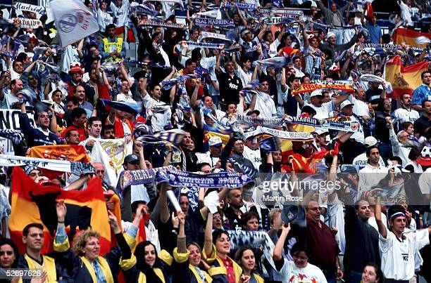 FINALE 99/00 Paris REAL MADRID FC VALENCIA 30 FANS REAL MADRID
