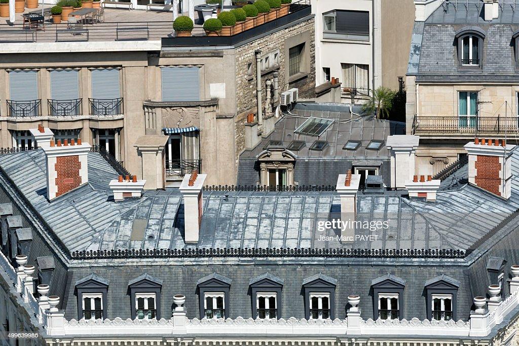 Paris rooftops, France : Photo