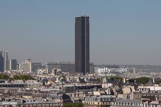 Paris rooftops  the Montparnasse Tower