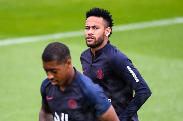 FRA: Paris Saint Germain - Training Session and Press Conference