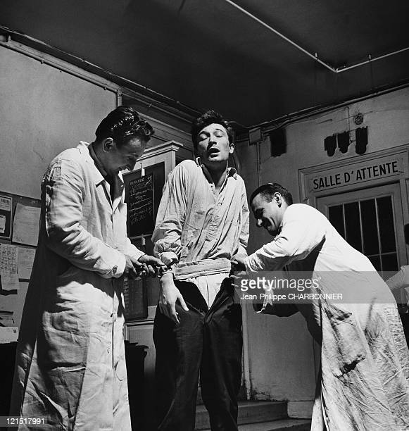Paris Sainte Anne Psychiatric Hospital Arrival And Mental Strain Of A Patient During The 1950'S