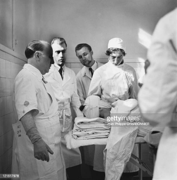 Paris Sainte Anne Psychiatric Hospital Surgery Unit And Straitjacket 1950'S