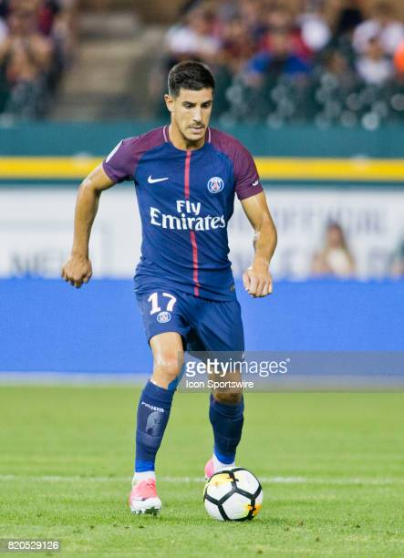 Paris SaintGermain defender Yuri controls the ball during an International Champions Cup match between AS Roma and Paris SaintGermain on July 19 2017...