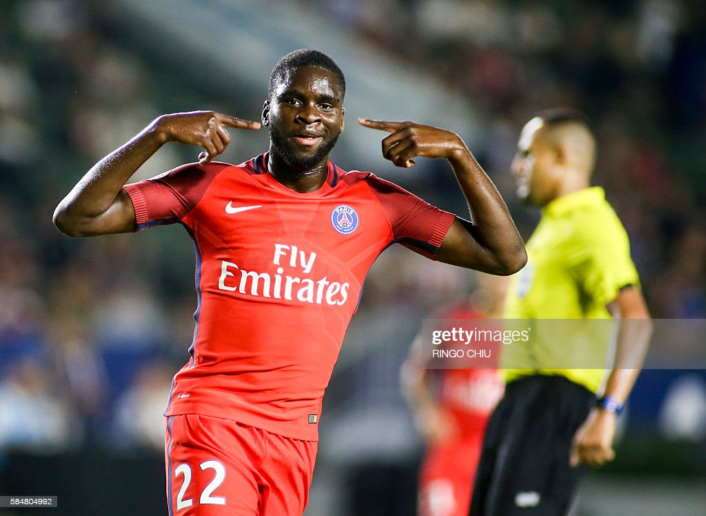 FBL-USA-ICC-FRA-ENG-PSG-LEICESTER : News Photo