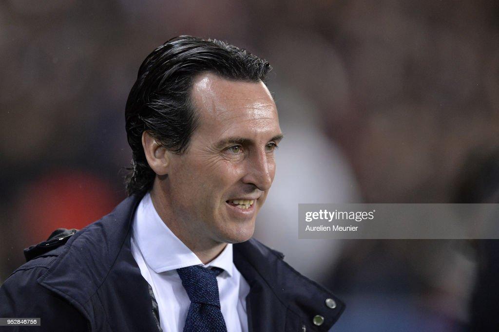 Paris Saint Germain v EA Guingamp - Ligue 1 : News Photo