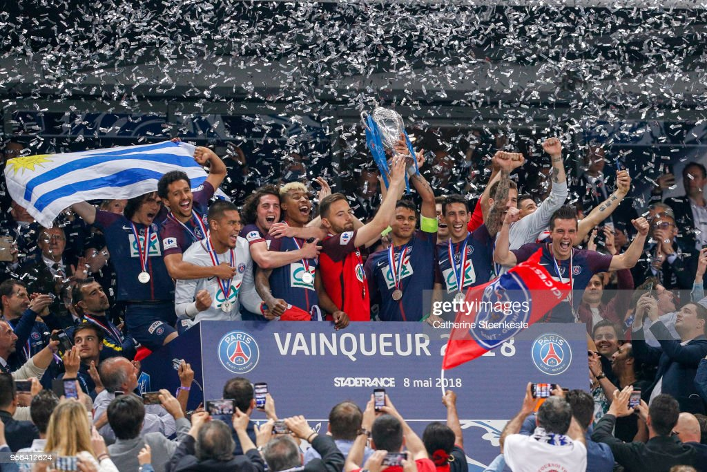 Les Herbiers VF v Paris Saint-Germain - Coupe de France Final : News Photo