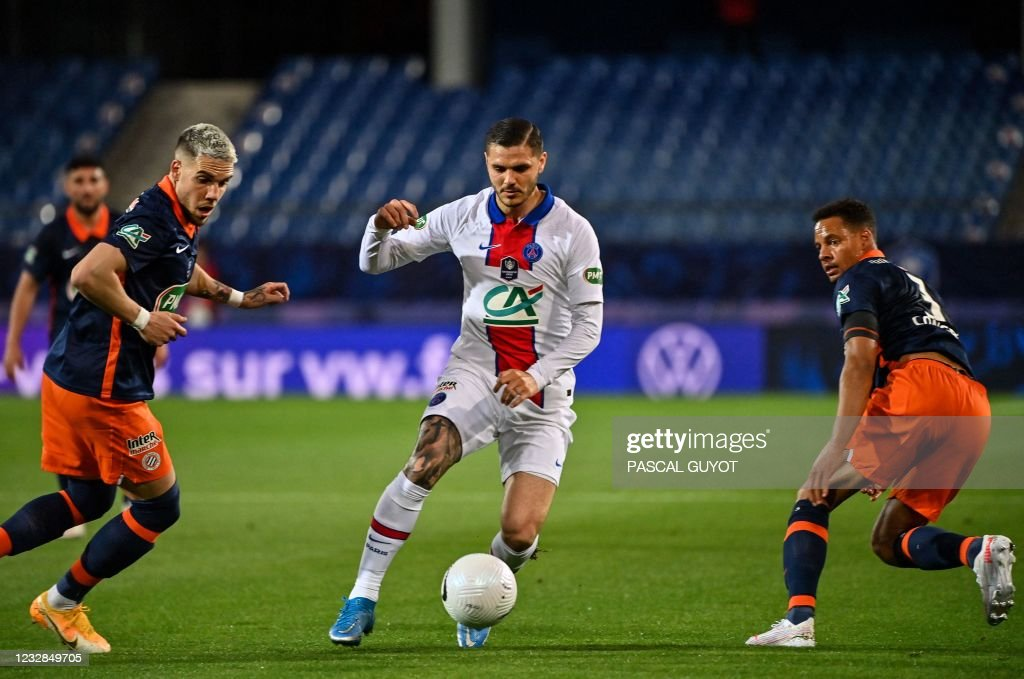 FBL-FRA-CUP-MONTPELLIER-PSG : News Photo