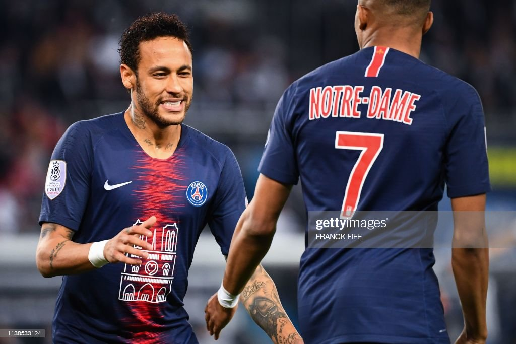 FBL-FRA-LIGUE1-PSG-MONACO : News Photo