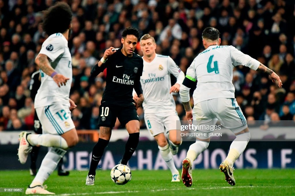 FBL-EUR-C1-REALMADRID-PSG : News Photo