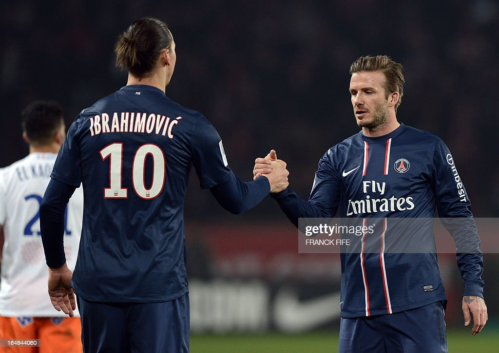 FBL-FRA-LIGUE1-PSG-MONTPELLIER : News Photo