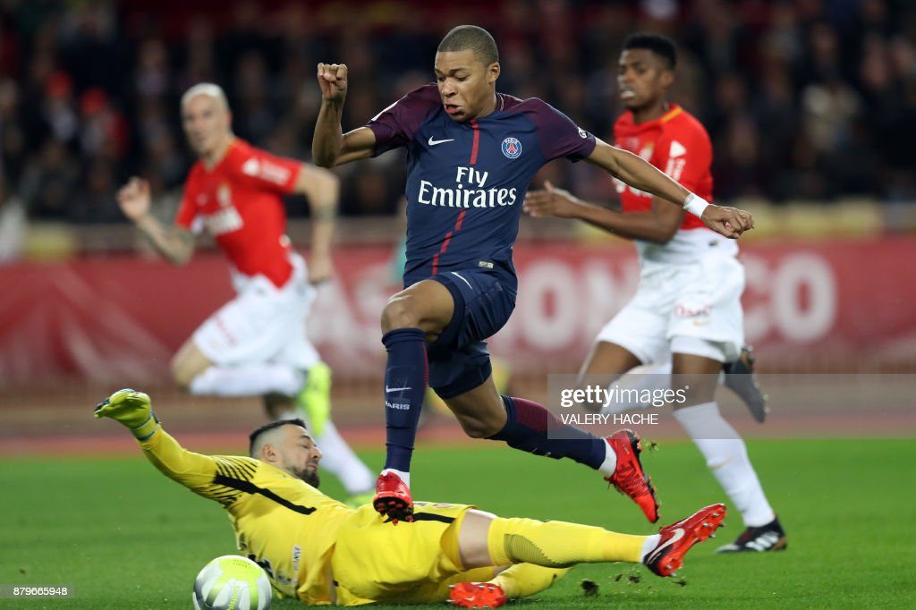 AS Monaco v Paris Saint Germain - Ligue 1