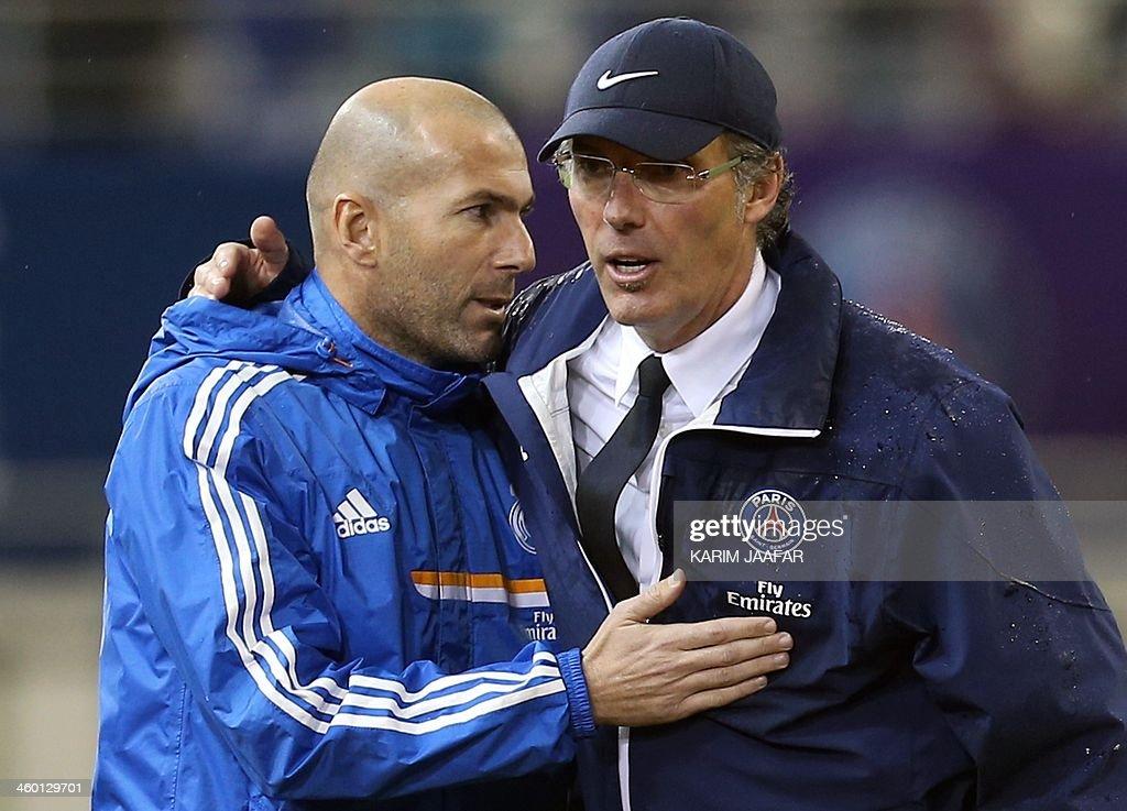 FBL-QAT-PSG-REAL MADRID-FRIENDLY : News Photo