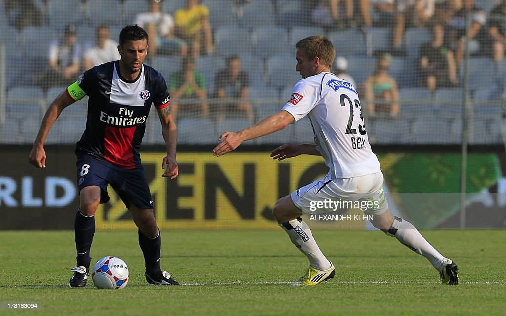 FBL-AUT-FRA-PSG-SK-STURM-GRAZ-FRIENDLY : News Photo