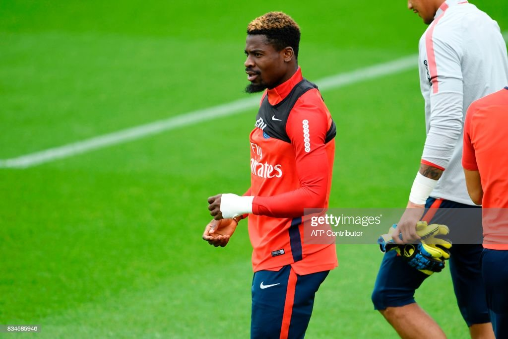 FBL-FRA-LIGUE1-PSG-TRAINING : Fotografía de noticias