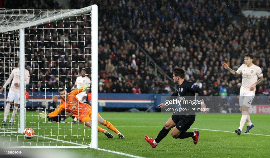 Paris Saint-Germain v Manchester United - UEFA Champions League - Round of 16 - Second Leg - Parc des Princes : News Photo