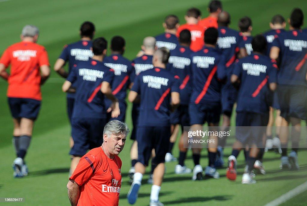Paris Saint-Germain's (PSG) new coach Ca : News Photo