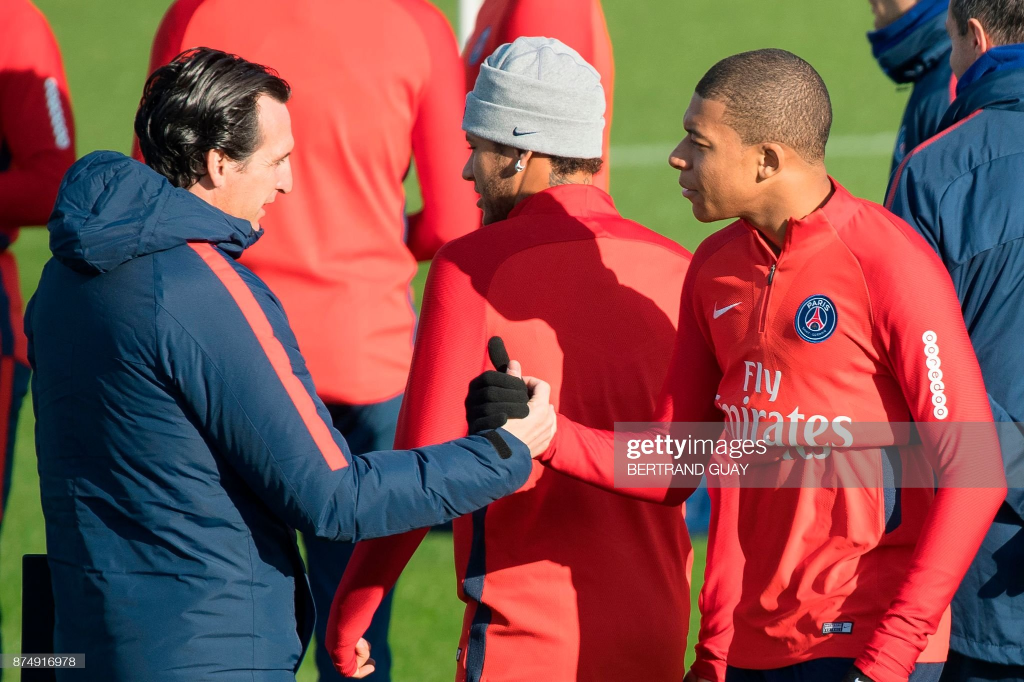 FBL-FRA-LIGUE 1-PSG-TRAINING : News Photo
