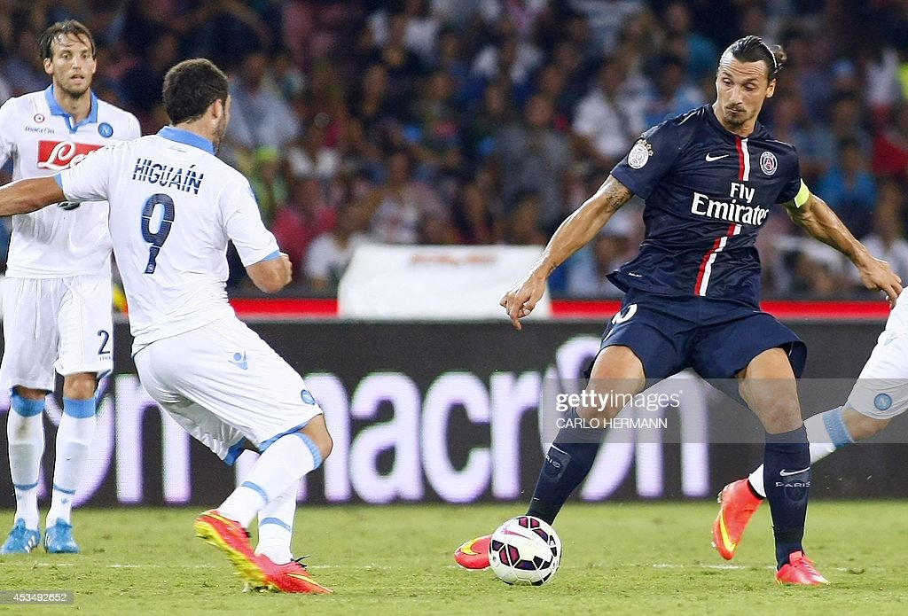 FBL-ITA-FRA-FRIENDLY-NAPOLI-PSG : News Photo
