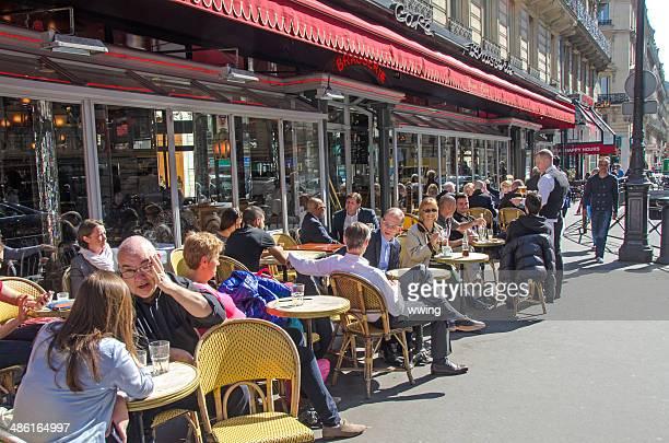 Paris Terrasse de café