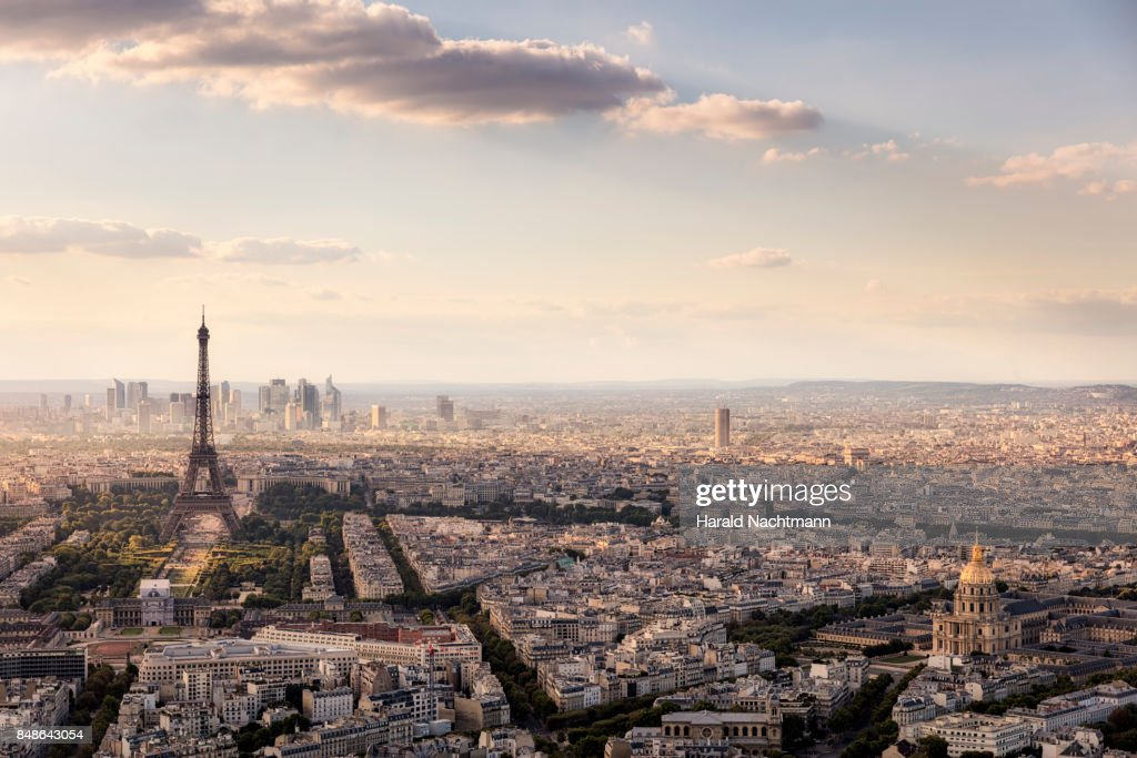 Paris Skyline : Stock-Foto