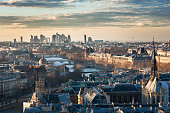 Paris skyline view from Notre-Dame