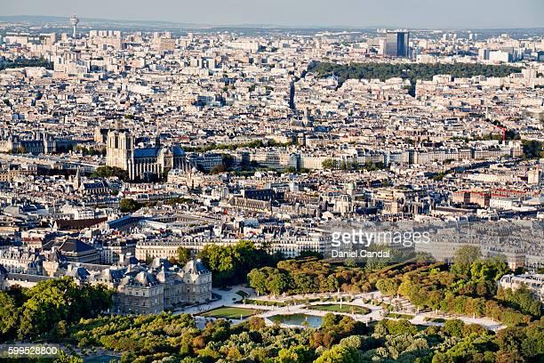 Paris skyline with Notre Dame Cathedral, Paris (France)