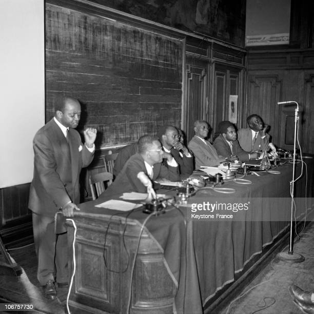 Paris Sorbonne University First Black Writers And Artists Congress In September 1956