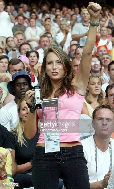 WM 2003 Paris Stabhochsprung/Maenner/Finale Alina BAUMANN