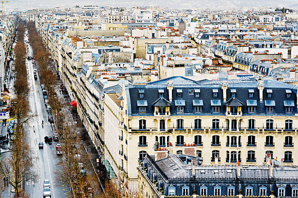 Paris Street, View from Above