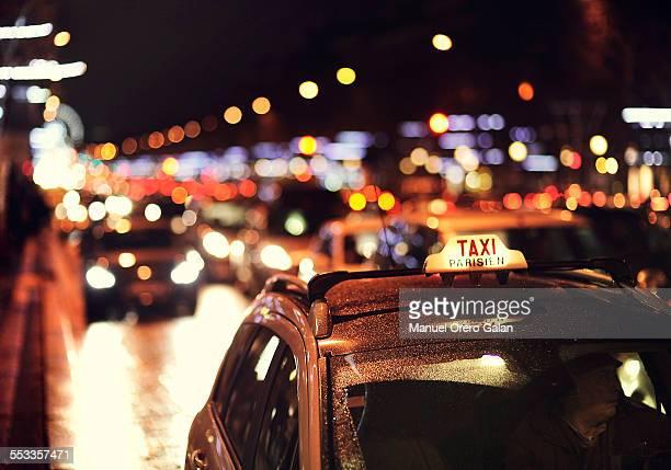 Paris taxi driver