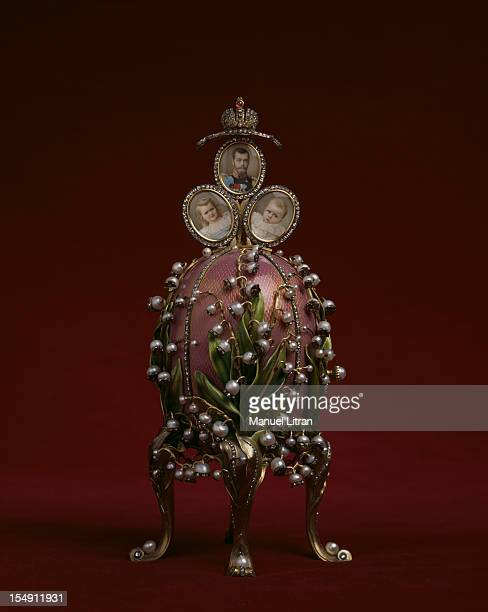 Paris the Musee des Arts Decoratifs presents the creations of jeweler Karl Faberge in an exhibition 'Faberge goldsmith of the Tsars' Imperial egg...