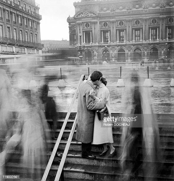 Paris The Opera Kiss