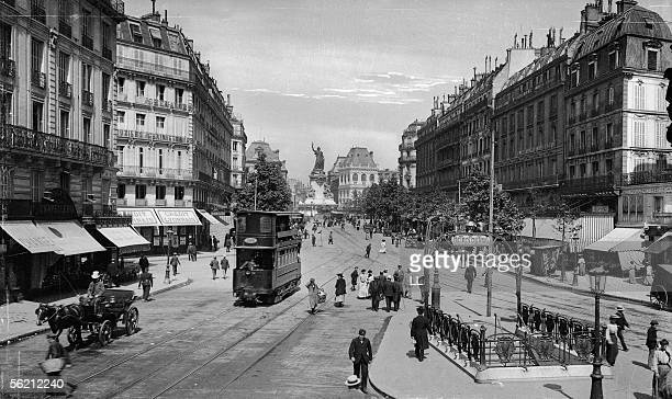 Paris The Subway station Temple street about 1900