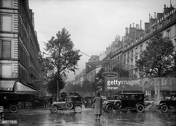 Paris Tronchet street about 1930
